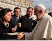 UN Climate Chief Meets Pope