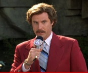 """Trump's refusal to concede in advance shakes our holy democracy to its very core.""  - Ron Burgundy, CNN"