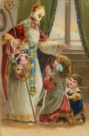 St. Nicholas' Feast Day is December 6th