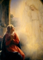 Annunciation & the Golden Legend