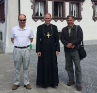 James Bogle, Bishop Fellay, Michael J. Matt (Menzingen)
