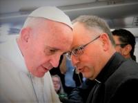 Besties Huddle: Pope and Fr. Spadaro