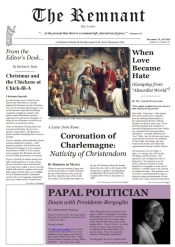 READ it NOW: December 15th Remnant Newspaper