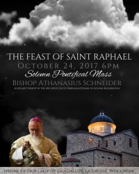 NEXT WEEK: Bishop Schneider to Celebrate Pontifical Mass in La Crosse, WI