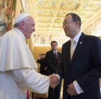 How Tight are the Vatican's Lefties with the UN's Population Controllers? This Tight.