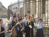 French Scouts on Pilgrimage