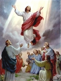 The Savior's Ascension into Heaven