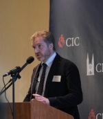 Edward Pentin speaks at the CIC