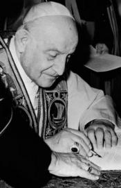 Pope John XXIII convokes the Council