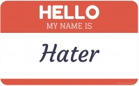 SPLC JUMPS THE SHARK: I'm a hater, you're a hater, wouldn't you like to be a hater too?