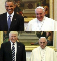 "Pope Sides With Left, Dumps Trump's ""Basket of Deplorables"""